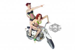 Ryan Armbrust - Pin-Up Motorcycle Shoot