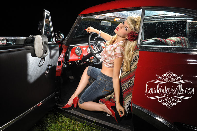 Ryan Armbrust - Drive-in Pin-Up Shoot