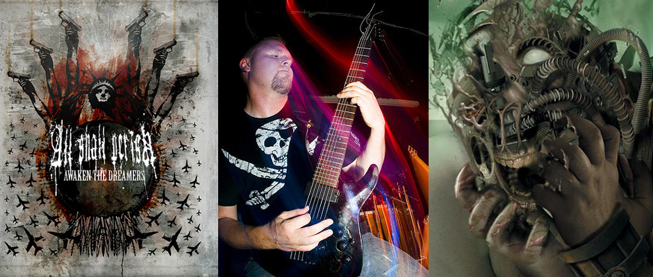 Feature Photo for Blow The Scene's Exclusive Interview with Ben Orum of All Shall Perish on Eve of Summer Slaughter Tour 2010