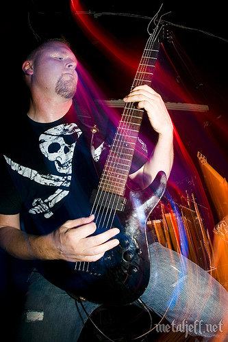 Ben Orum of All Shall Perish Live