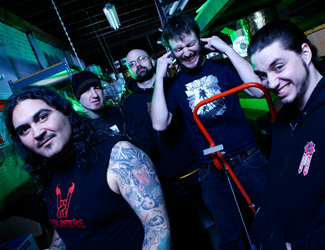 Cephalic Carnage Group Photo