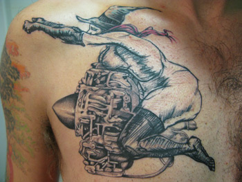 Derek Hess Tattoo