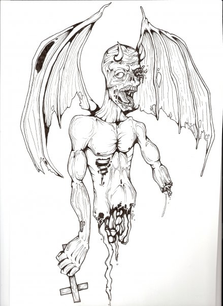 Matt Ferri Original Custom Tattoo Design