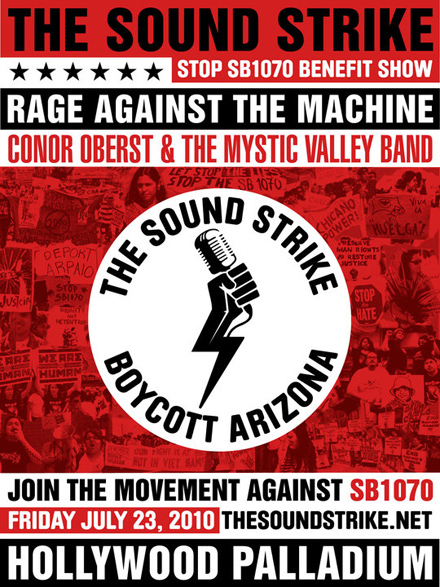 Rage Against The Machine To Play AZ Immigration Law Protest