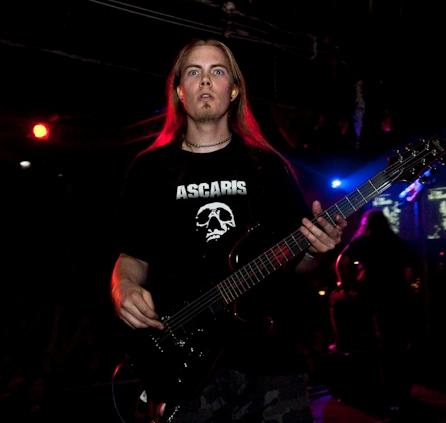 Brian Hopp of Cephalic Carnage