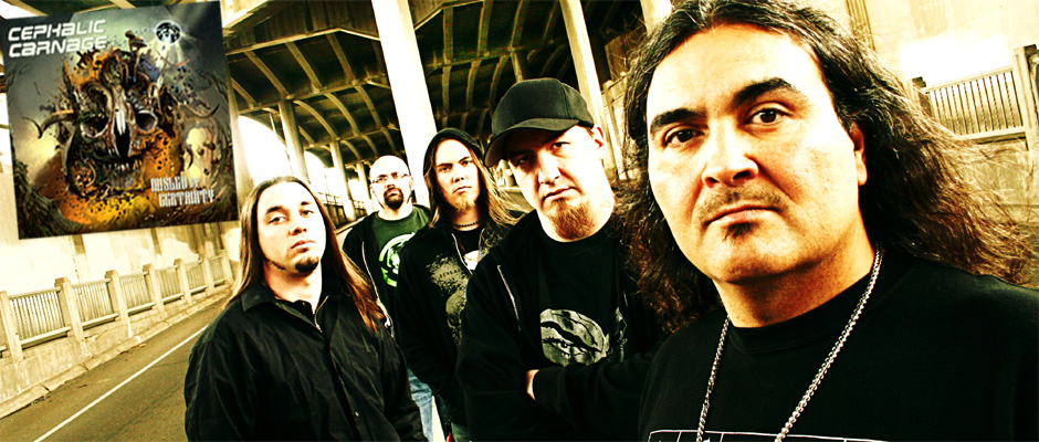 Cephalic Carnage Interview Exclusive with Blow The Scene