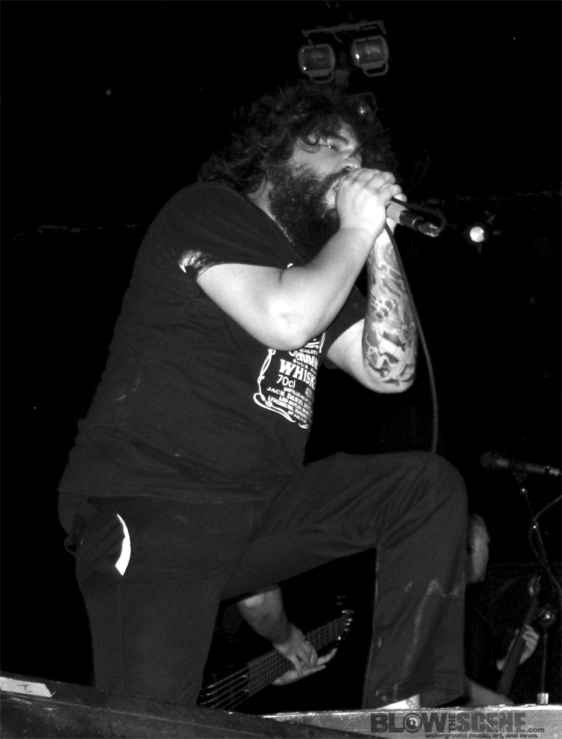 Hernan Hermida of All Shall Perish Live Photo in Phila 7-29-2010 on Summer Slaughter Tour