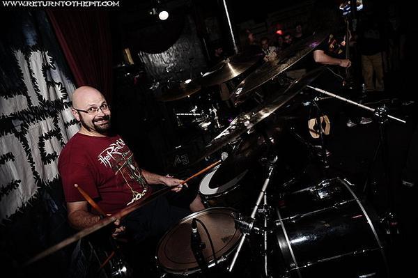 John Merryman of Cephalic Carnage on Drums