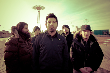 Deftones Group Photo