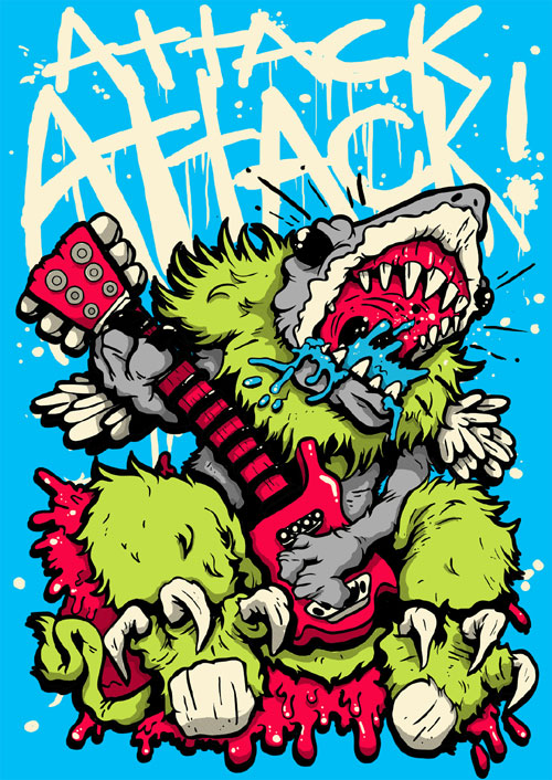 Matt Gondek Design for Attack Attack