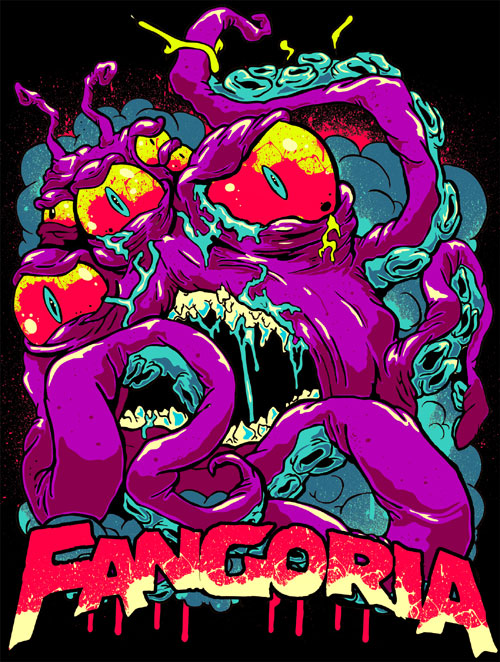 Matt Gondek Original Art Design for Fangoria