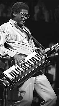 Herbie Hancock with Keytar