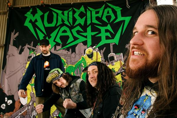Municipal Waste Group Photo