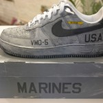 Dave-White-USAF-Nike-Air custom sneaker