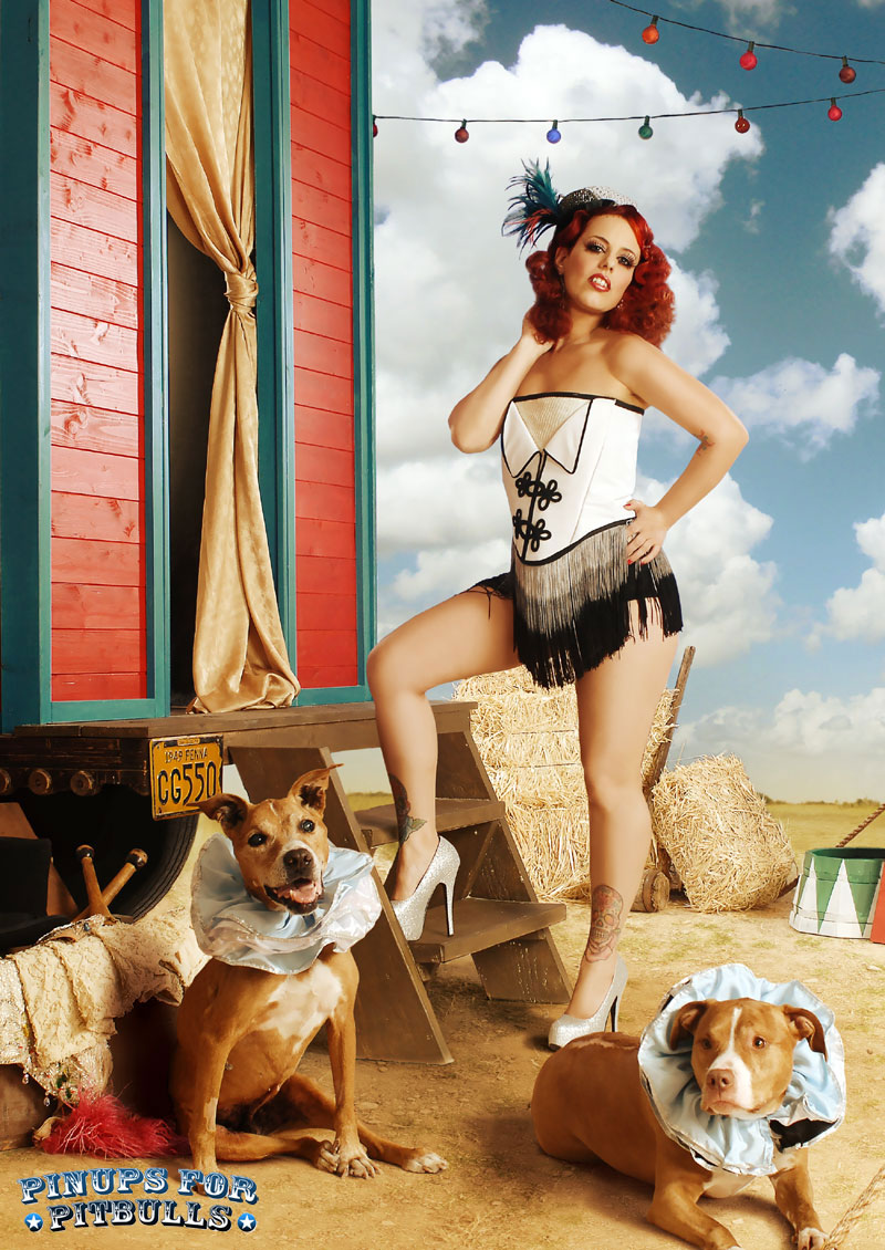Founder of Pinups for Pitbulls