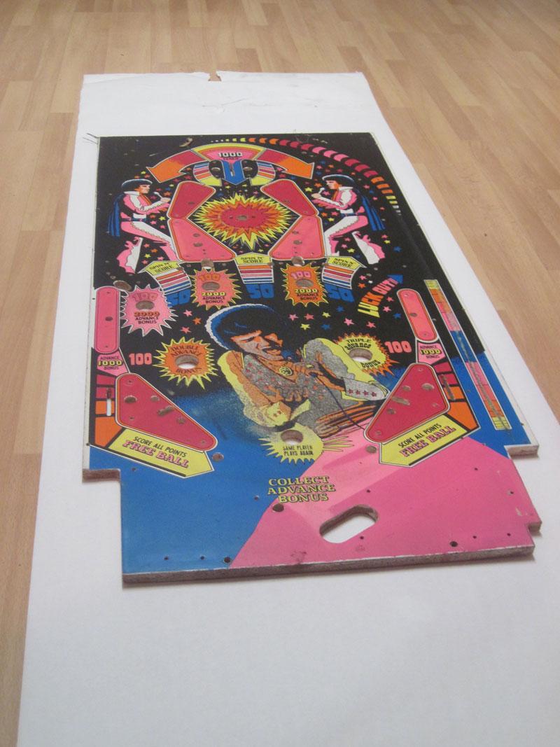 Custom Pin Ball Table by Matt Slime Bucket and Jon Giancola