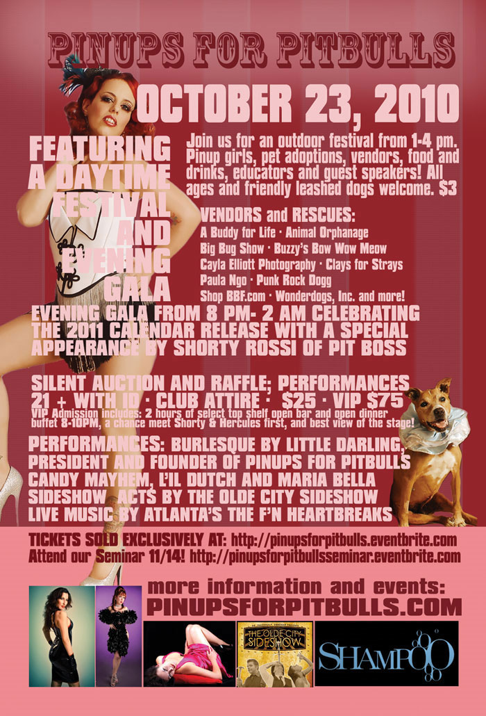 Pinups for Pitbulls Hosts Pit Bull Awareness Day!