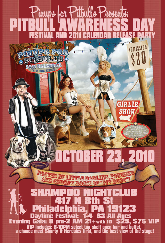 Pinups for Pitbulls Hosts Pitbull Awareness Day!