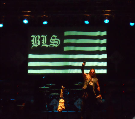 Zakk Wylde Live In Pittsburgh October 16, 2010