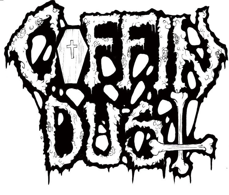 Coffin Dust Logo By Matt Slime Bucket