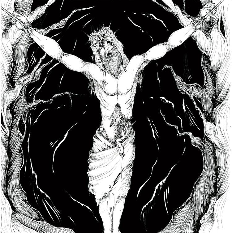 Hatred Embraced Original Artwork by Matt Slime Bucket