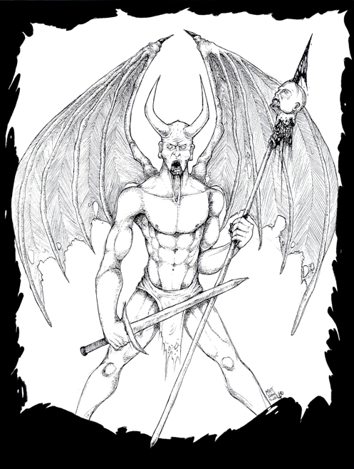 The Devil - Art By Matt Ferri