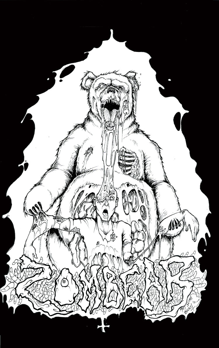 Zombear Logo By Matt Slime Bucket