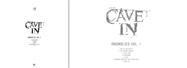 Cave In Anomalies Vol 1