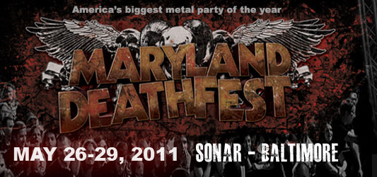 Maryland Deathfest 2011 Official Logo