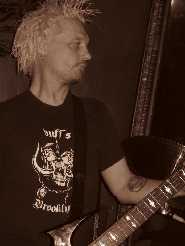 Phobia Bassist Calum Mackenzie