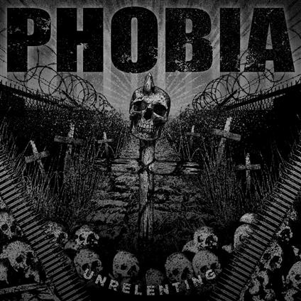 Phobia EP Unrelenting Cover Art