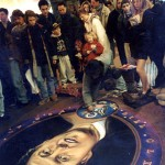 Julian Beever - Bill Clinton