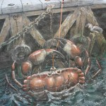 Julian Beever - Catching Crabs