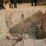 Julian Beever - That Hemmed In Feeling