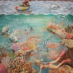 Julian Beever - Two Worlds