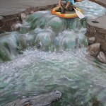 Julian Beever - White Water Rafting