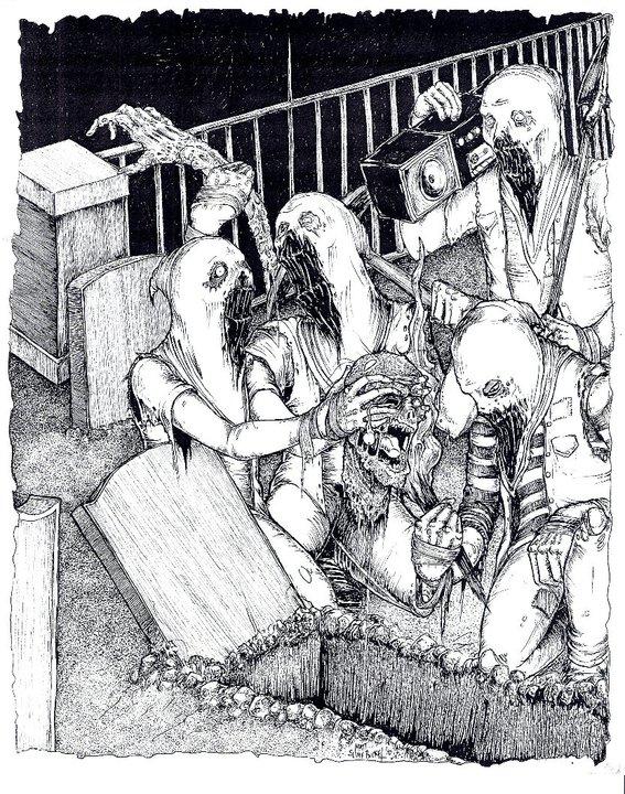Ghoul art by SLIME