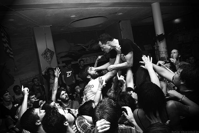Touche Amore Live Band Photo