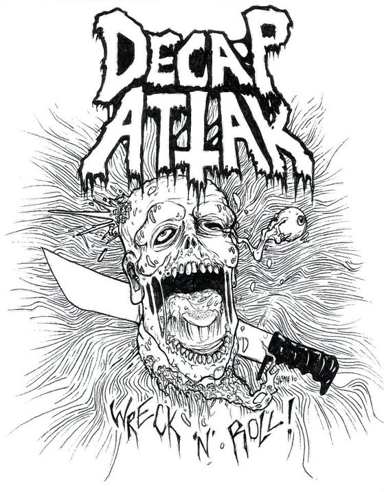 Decap Attack shirt design by SLIME