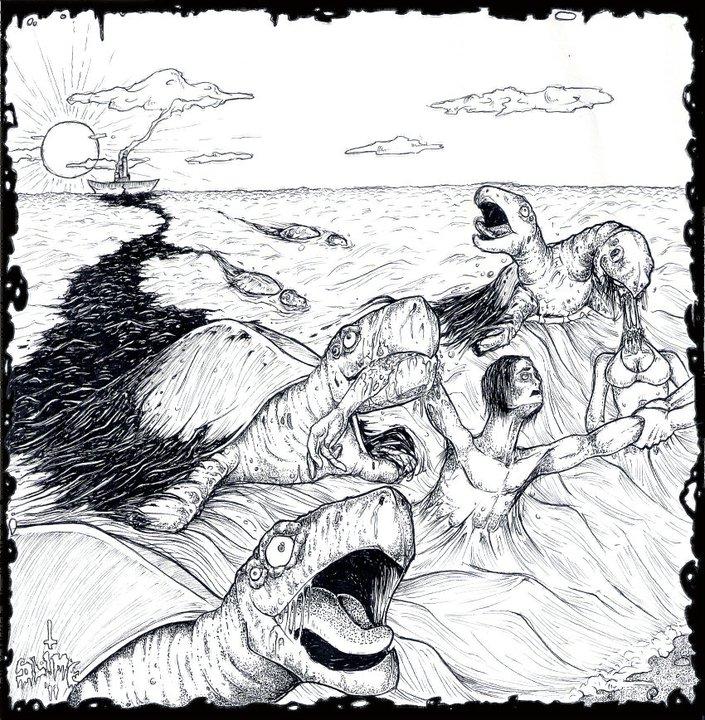 Mutant Sea Turtles by SLIME