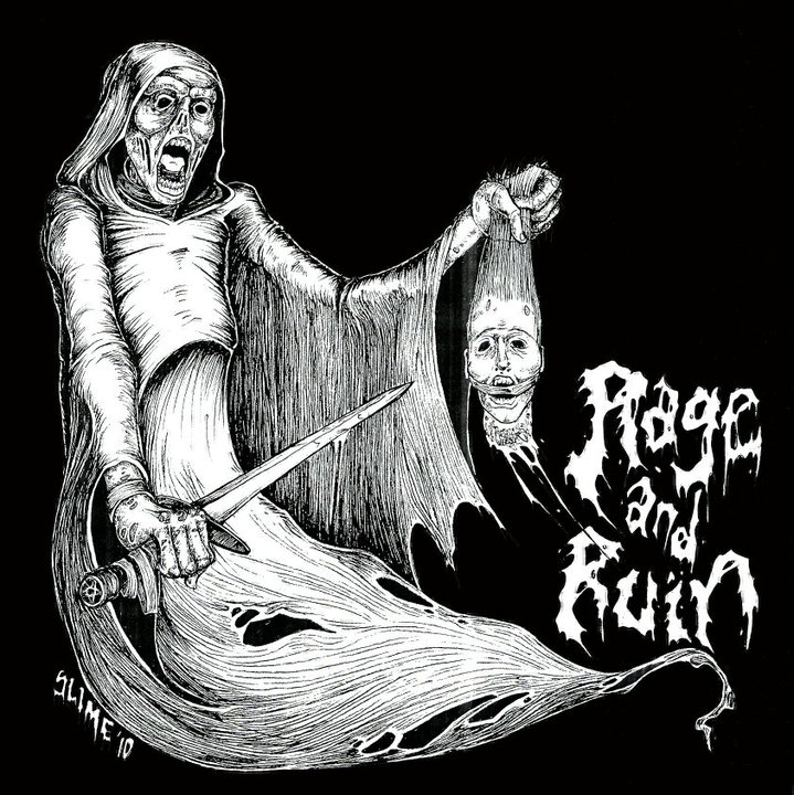 Rage and Ruin Album Cover by SLIME