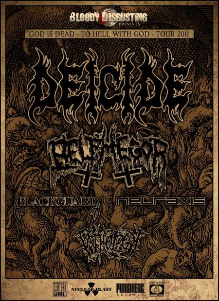 God Is Dead – To Hell With God Tour Poster
