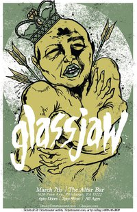 Glassjaw March 7 2011 Altar Bar Poster