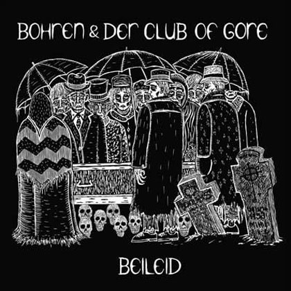 Beileid album cover by Bohren & Der Club of Gore