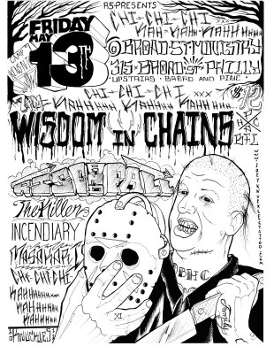 Friday13th 2011 Philly Hardcore Shows
