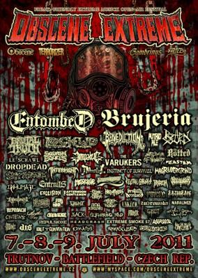 Obscene Extreme 2011 Poster