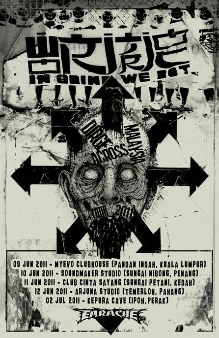 Wormrot - Malaysia Tour 2011