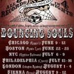 Bouncing Souls - All 8 records US Tour 2011