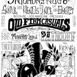 Old Firm Casuals - Philly Hardcore Shows Poster