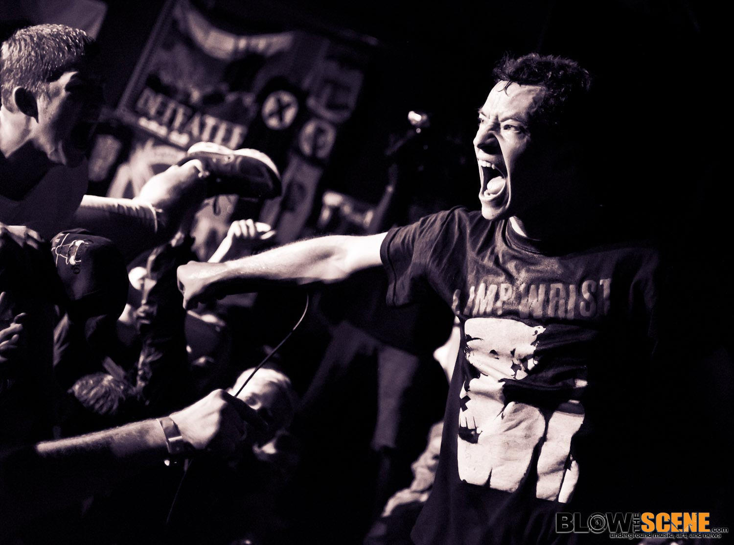 Touche Amore - This Is Hardcore Fest 2011 BTS Gallery